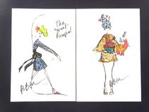 LANVIN Greeting Cards