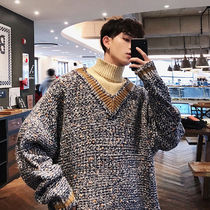 Street Style Long Sleeves Plain Oversized Knits & Sweaters