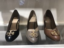 Tory Burch Round Toe Elegant Style Wedge Pumps & Mules