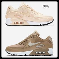 Nike AIR MAX 90 Casual Style Unisex Low-Top Sneakers