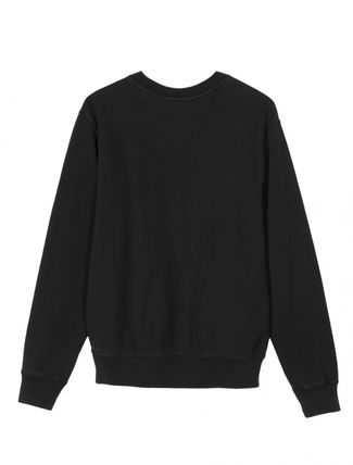 STUSSY Sweatshirts Crew Neck Pullovers Unisex Long Sleeves Plain Cotton 17