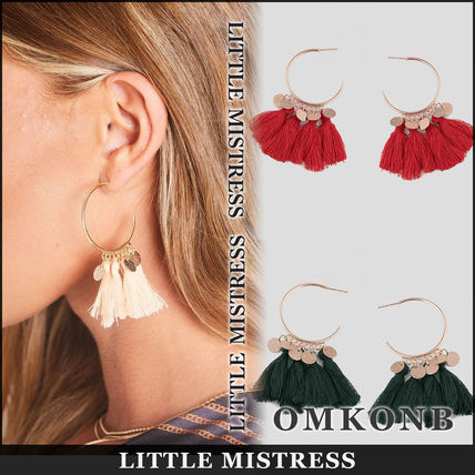 Tassel Earrings & Piercings