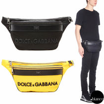 Dolce & Gabbana Unisex Nylon 2WAY Hip Packs