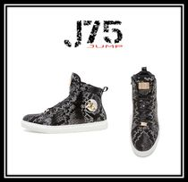 J75 by JUMP Faux Fur Street Style Other Animal Patterns Sneakers