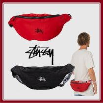 STUSSY Unisex Nylon Hip Packs