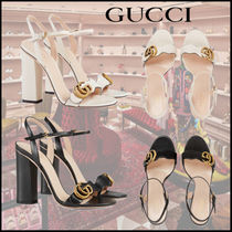 GUCCI Leather Elegant Style Sandals