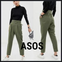 ASOS Casual Style Plain Long Cropped & Capris Pants