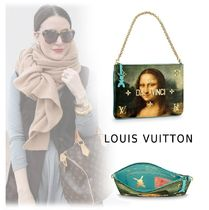 Louis Vuitton Canvas 2WAY Elegant Style Handbags