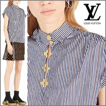 Louis Vuitton Short Monogram Blended Fabrics Cotton Elegant Style