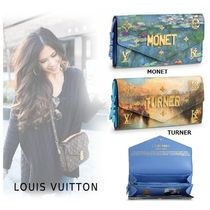 Louis Vuitton Canvas Folding Wallets