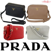 PRADA 2WAY Leather Shoulder Bags