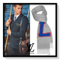 Louis Vuitton Unisex Cashmere Scarves