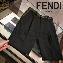 FENDI Plain Shorts