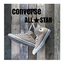 CONVERSE ALL STAR Unisex Street Style Low-Top Sneakers