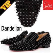Christian Louboutin Loafers Studded Leather Loafers & Slip-ons