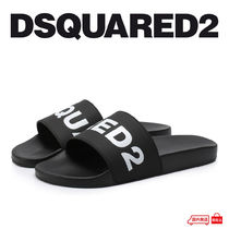D SQUARED2 Unisex Shower Shoes Shower Sandals