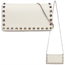 VALENTINO Studded Chain Shoulder Bags