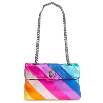 Stripes Casual Style Street Style 2WAY Bi-color Chain