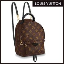 Louis Vuitton Monogram Casual Style 2WAY Leather Shoulder Bags