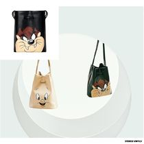 STEREO VINYLS COLLECTION Collaboration Shoulder Bags