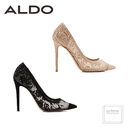 e816e4455c1d ALDO 2019 SS Plain Pin Heels Party Style Oversized Heeled Sandals by ...