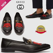 GUCCI Skull Loafers Plain Leather U Tips Loafers & Slip-ons