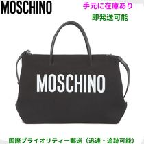 Moschino Blended Fabrics Mothers Bags