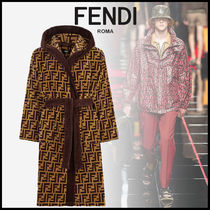 FENDI Monogram Cotton Oversized Lounge & Sleepwear