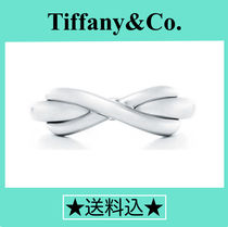 Tiffany & Co TIFFANY INFINITY Silver Elegant Style Rings