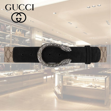 4e84f0212 GUCCI Dionysus Unisex Street Style Leather Belts ( 505337 KHNRN 9769 ...