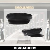 D SQUARED2 Unisex Blended Fabrics Hats & Hair Accessories
