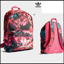 adidas Flower Patterns Casual Style Unisex Backpacks 36fd0140b7a5c