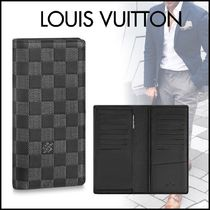 Louis Vuitton DAMIER INFINI Other Plaid Patterns Blended Fabrics Street Style Bi-color