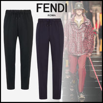 FENDI Tapered Pants Plain Tapered Pants