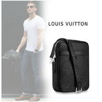 Louis Vuitton Leather Logo Messenger & Shoulder Bags