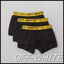 Off-White Cotton Boxer Briefs