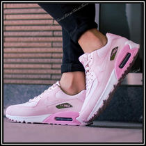 Nike AIR MAX 90 Casual Style Unisex Street Style Plain Low-Top Sneakers