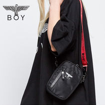 BOY LONDON Casual Style Unisex Street Style Shoulder Bags