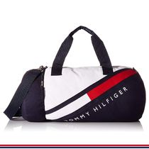 Tommy Hilfiger Unisex Logo Boston Bags