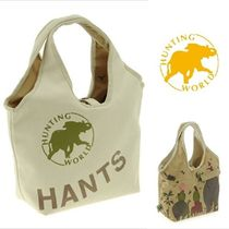 HUNTING WORLD Unisex Canvas Totes