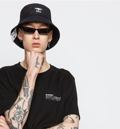 Unisex Street Style Wide-brimmed Hats