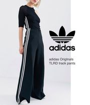 adidas Casual Style Sweat Street Style Bi-color Long Oversized