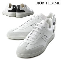 3c047d710d9 DIOR HOMME Street Style Plain Leather Sneakers