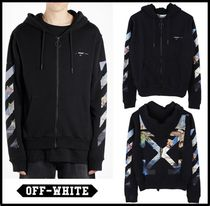 Off-White Street Style Hoodies