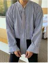 ASCLO Stripes Oversized Shirts