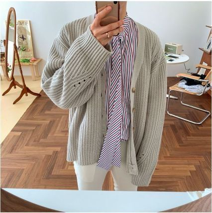 ASCLO Shirts Stripes Oversized Shirts 11