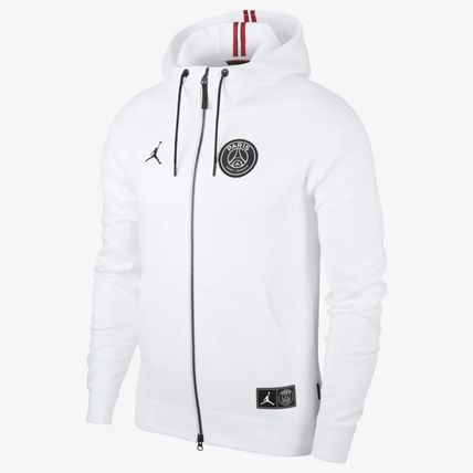 Nike Hoodies Pullovers Unisex Blended Fabrics Collaboration Long Sleeves