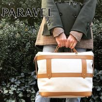 PARAVEL Casual Style Plain Totes