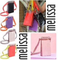 Melissa Casual Style Unisex 2WAY PVC Clothing Shoulder Bags