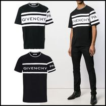 GIVENCHY Crew Neck Cotton Short Sleeves Crew Neck T-Shirts